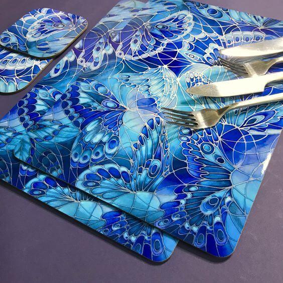 cetak table mat