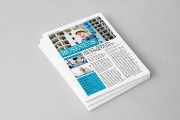 cetak newsletter