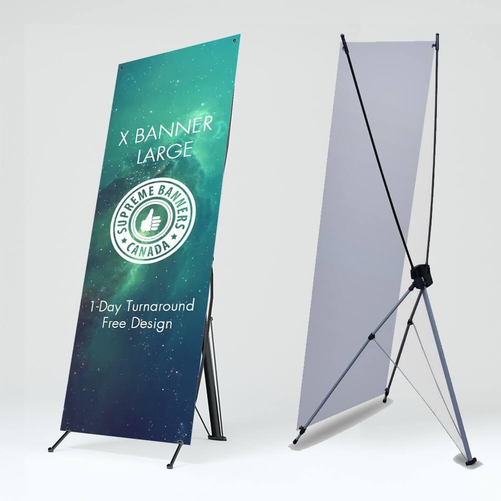 cetak x banner